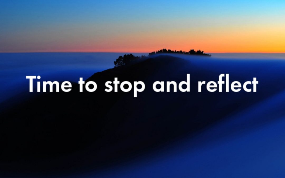 Clinical supervision – time to stop and reflect