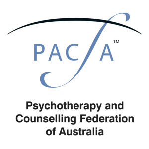 Logo of PACFA, the Psychotherapy and Counselling Federation of Australia